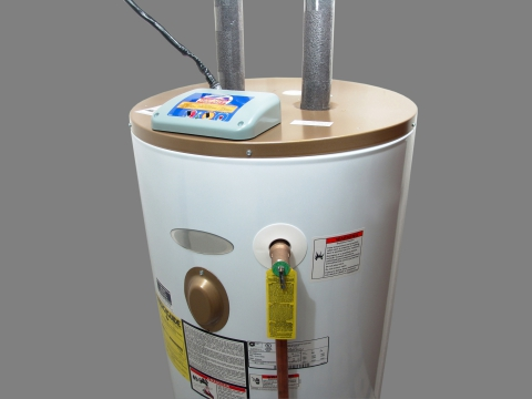 electric water heater plumbing