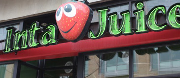 Inta Juice Greeley, the smoothie bar that can make you happy!