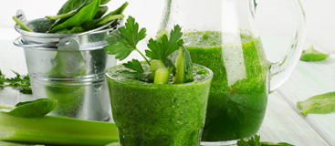 Our smoothie shop can make you healthy vegetables smoothies!