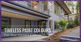 Timeless Paint Colors