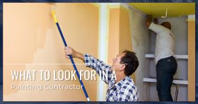 Contractors Painting Home Interior