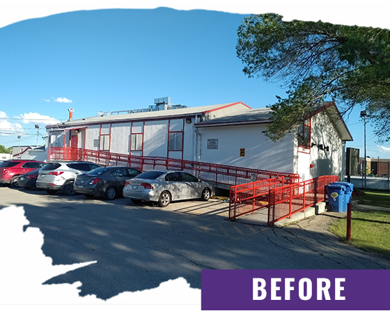 Restaurant Before Exterior Painting