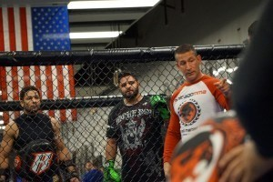 Kru Mark DellaGrotte teaching Muay Thai