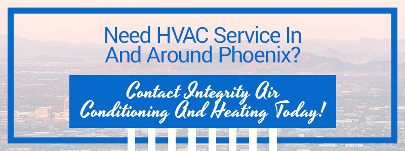 Call to action button for HVAC service in Phoenix.