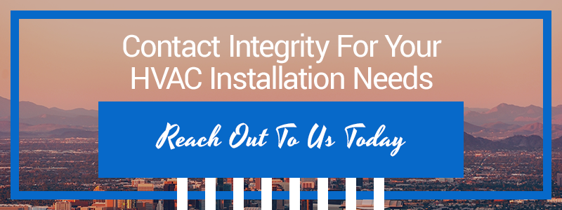 Call to action about air conditioner installation services in Phoenix, AZ.