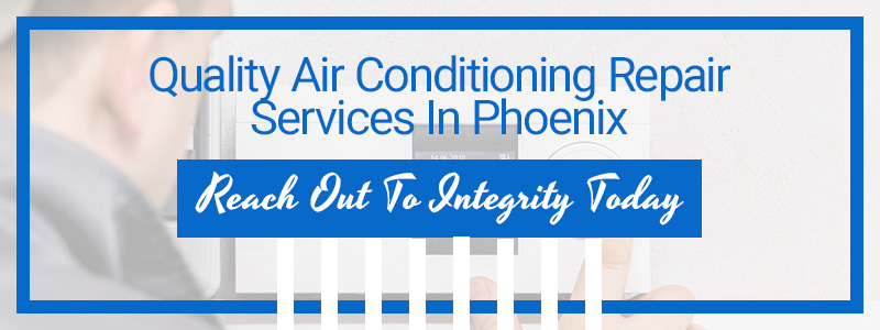 Call to action for air conditioning repair services.