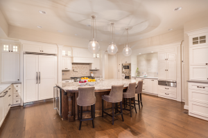 Kitchen design with lighting concept from Interiors by Maey in Canton.