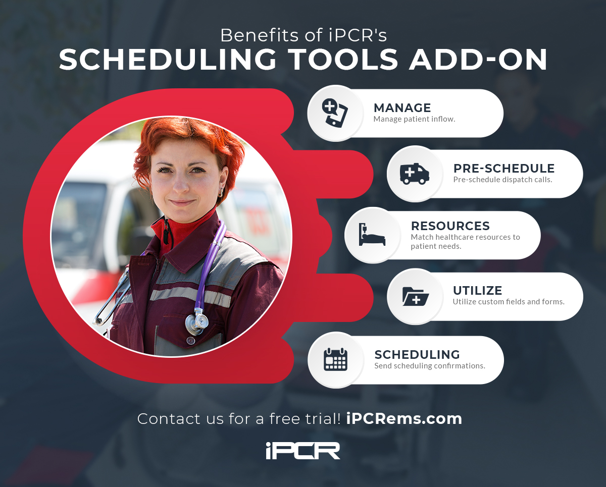 Infographic Scheduling tools