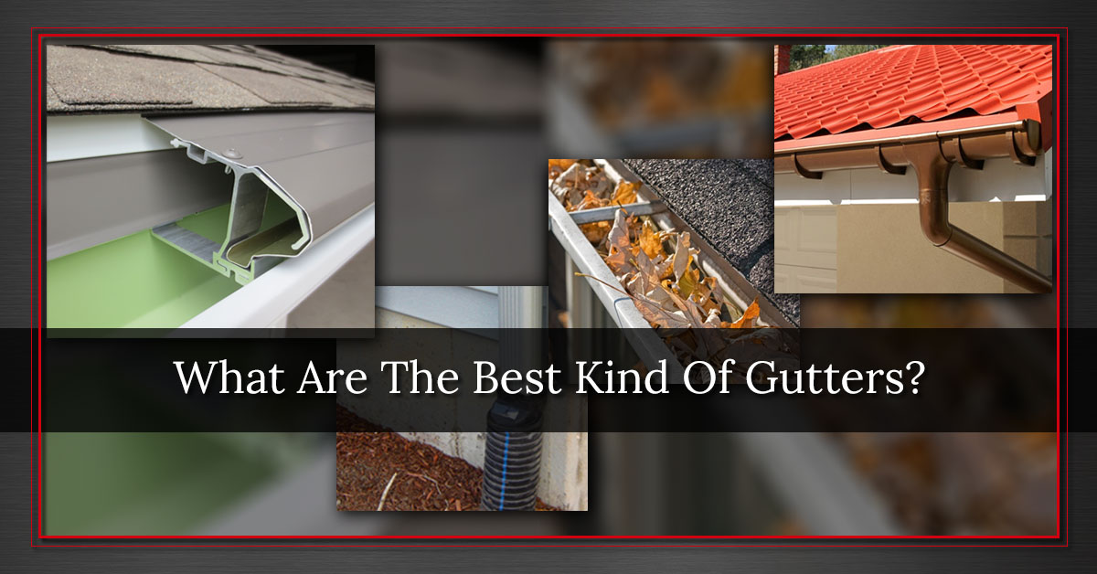 What Are The Best Kind Of Gutters To Install Iron Horse Gutter Works