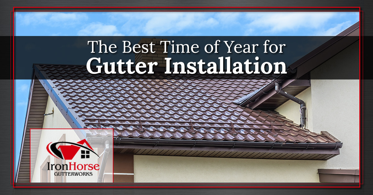 Gutter Installation Syracuse Best Time Of Year For Gutter Replacement