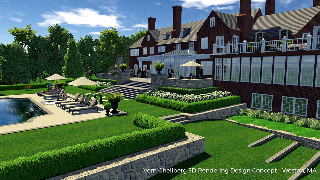 Merveilleux Ivy Studio, Your Premier Landscape Designers In Massachusetts, Will Take  Your Project From Its Conceptual Phase Right Through To Construction And To  Its ...