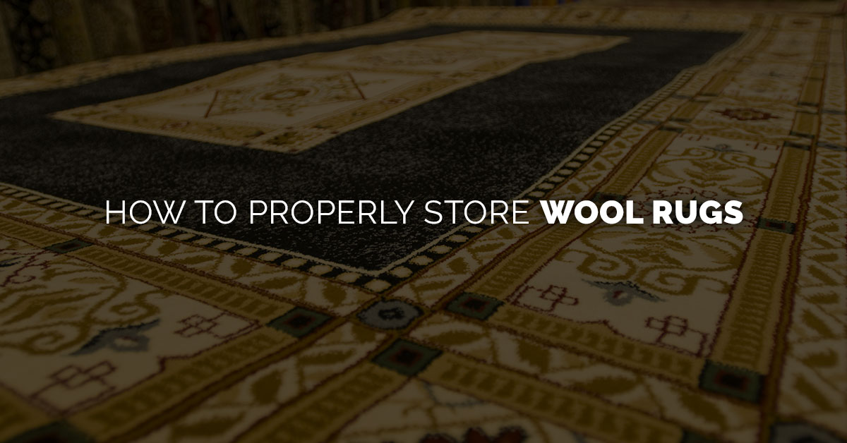 How to Store Wool Rugs Banner