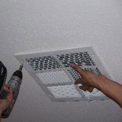 Installing a Ceiling Vent