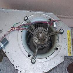 Old Blower Fan Closeup