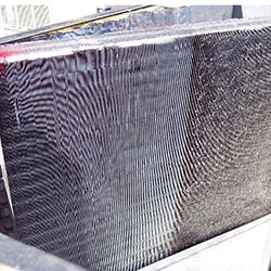 Commercial Air Filter Cleaning in Progress