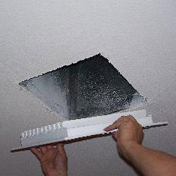 Inserting a New Ceiling Vent