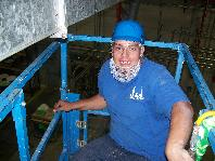 Duct Specialist on Lift