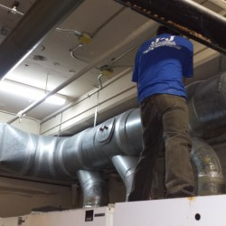 Preparing Commercial Dryer Ducts for Cleaning