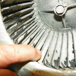 Duct Blower Before Cleaning
