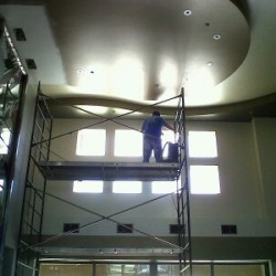 Cleaning High-Ceiling Vents