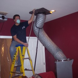 Performing a Residential Duct Cleaning