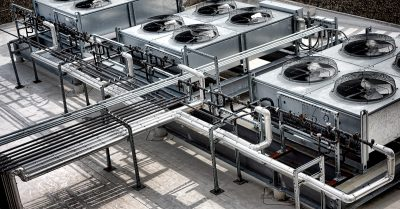 Commercial HVAC System and Ducts