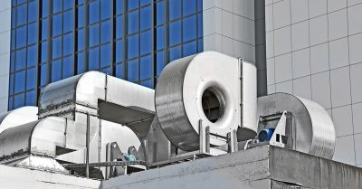 Commercial Ducts From HVAC System