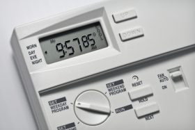 Thermostat Closeup