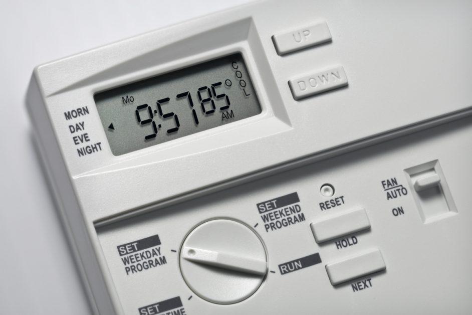 Thermostat Closeup