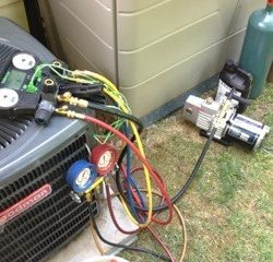 AC Unit Performance Testing & Servicing