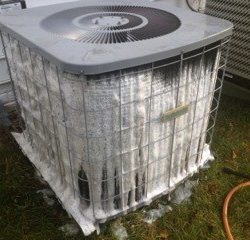 Cleaning Exterior AC Unit