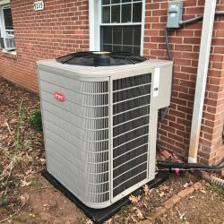 Rheem Exterior Air Conditioner Installation