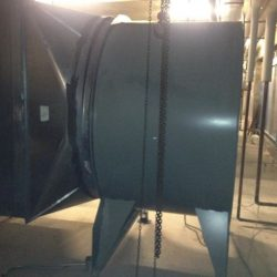 Commercial Fan for HVAC Ducts