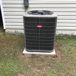 New Bryant Air Conditioner Install