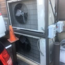 Commercial HVAC Fan Installation