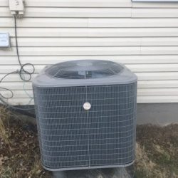 AC Unit Serviced for the Season