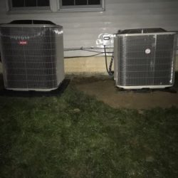 Dual AC Unit Installations