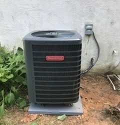 New Air Conditioner Install
