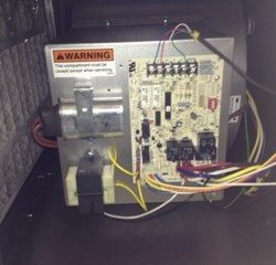 Commercial HVAC Unit With Wiring
