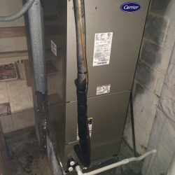 New Carrier Heater Installation
