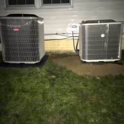 Installation of Two AC Units