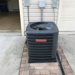 Goodman Exterior AC Unit Installation