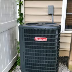 New Goodman AC Unit Installation