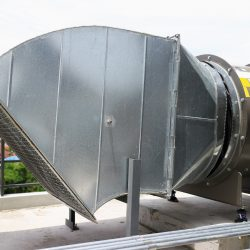 Custom Ventilation Duct for a Commercial Installation