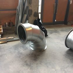 90 Degree Ductwork for HVAC System