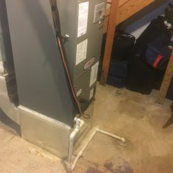 Upright Furnace Installation