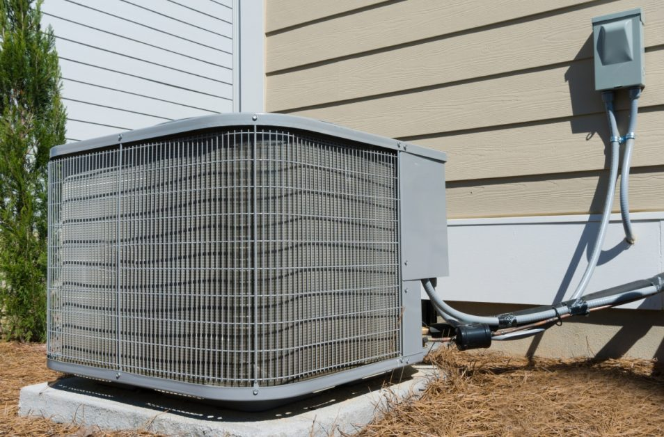 Condenser Unit Outside of Home