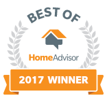 Best of Home Advisor Badge 2017