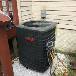 Goodman AC Unit Installation