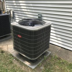 AC Unit Installation Outside of Home